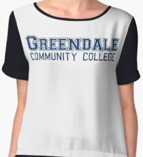 Greendale Community College Women's Chiffon Top