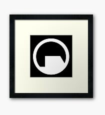 Black Mesa Research Facility Framed Print