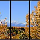 Fall In The Rockies - Triptych by Al Bourassa