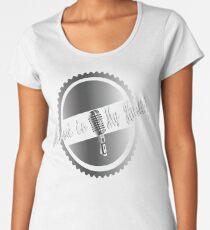 Music is my Hustle! Hustler design Women's Premium T-Shirt