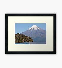 Mt Tronador Splendor Framed Print