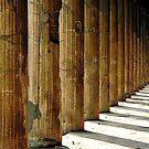 Pompeii - columns by malcblue