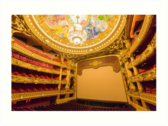 Opera House, Paris 6 by John Velocci