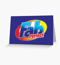 FAB T for Adults [iPad / Phone cases / Prints / Clothing / Decor] Greeting Card