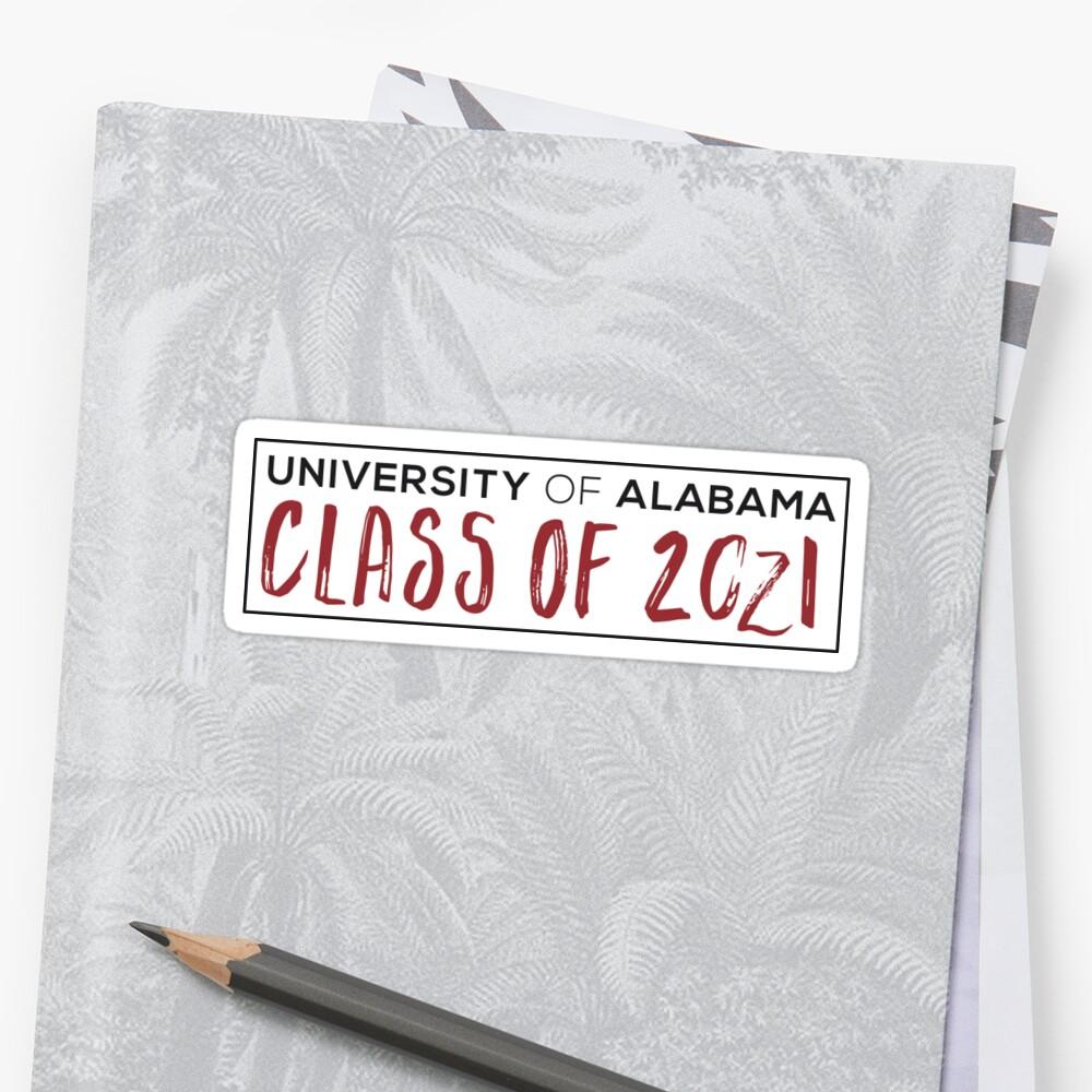 University of Alabama Class of 2021 by Samuel Grant