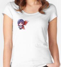 Camiseta entallada de cuello redondo Touka