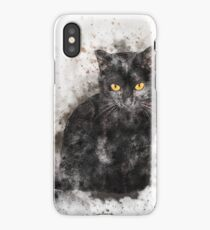 Abstract Cat Lover iPhone Case