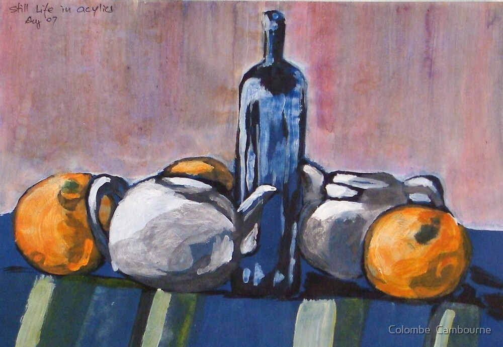 Nature morte by Colombe  Cambourne