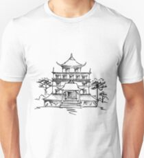 CHINESE TEMPLE t-shirt  T-Shirt