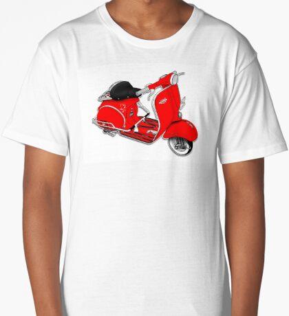 Scooter T-shirts Art: 1961 Allstate Scooter Design Long T-Shirt