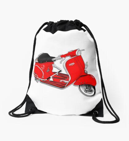 Scooter T-shirts Art: 1961 Allstate Scooter Design Drawstring Bag