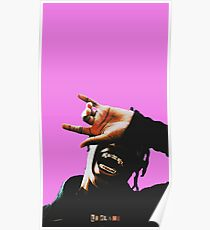 Travis Scott Aesthetic Poster