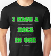 Funny Golf Hole in One Humor  T-Shirt