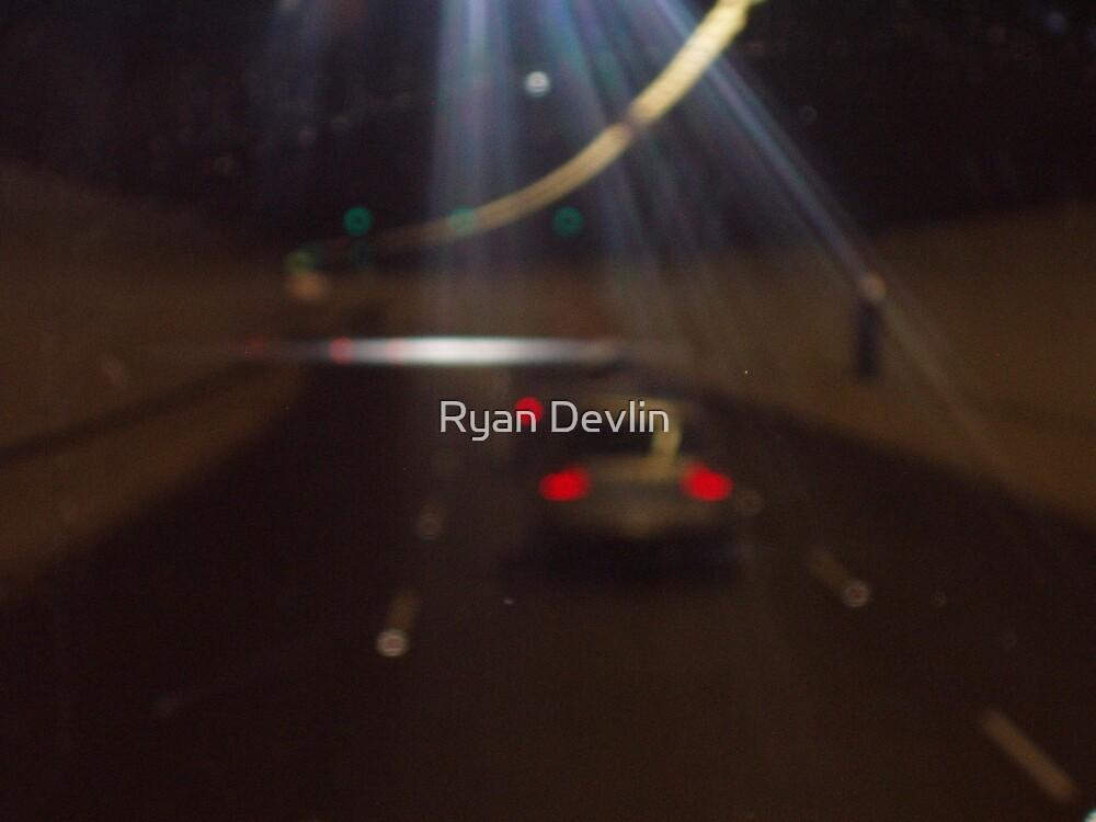 Glass tunnel by Ryan Devlin