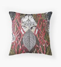Middle August Throw Pillow