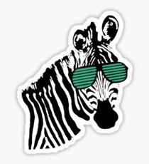 zebra_small Sticker