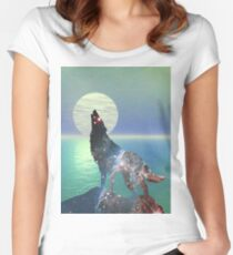 Star Wolf Women's Fitted Scoop T-Shirt