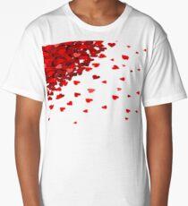 RAIN OF HEARTS t-shirt  Long T-Shirt