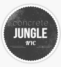 CONCRETE JUNGLE Sticker