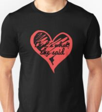That's What She Said - The Office - Michael Scott Funny - Graphic Design T-Shirt
