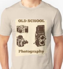 Funny Photographer Design - Old School Photography T-Shirt
