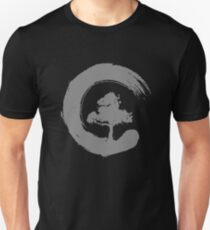 Bonsai Tree Enso Circle T-Shirt