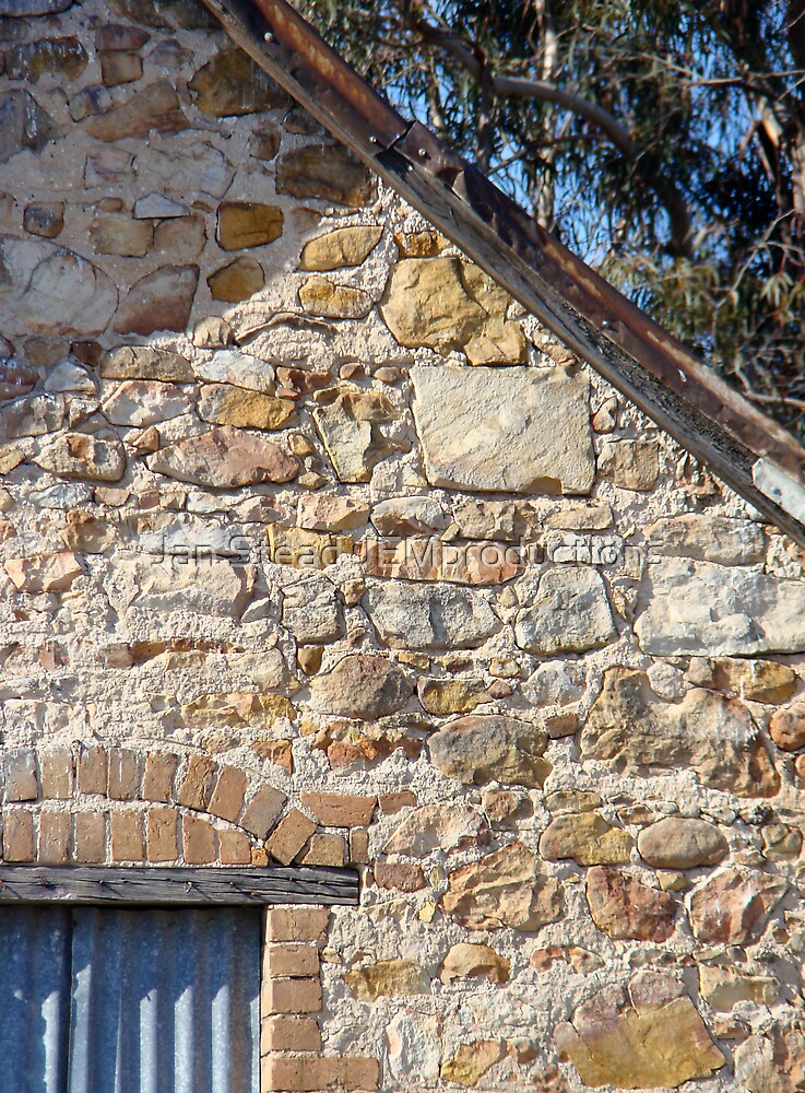 olden days stone and mortar by Jan Stead JEMproductions