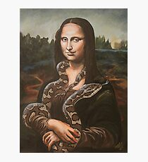 Mona, After Da Vinci Photographic Print
