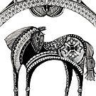 The dark horse by Jenny Wood