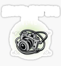 Funny Photographer Design - Shoot What You Love Sticker