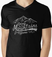 Going to the Mountains is going home - Vintage T-Shirt