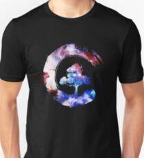 Bonsai Tree Galaxy Enso Circle T-Shirt