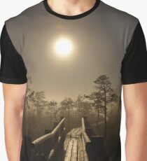 The full moon Graphic T-Shirt