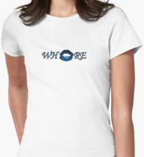 Whore Women's Fitted T-Shirt
