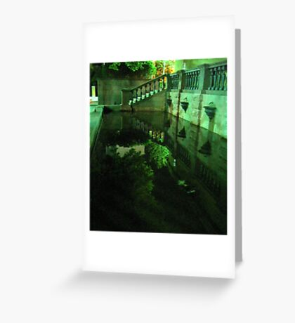 Beauty of Darkness and Mystery Greeting Card