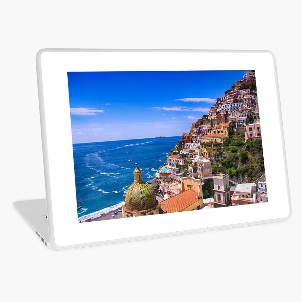 Liebe von Positano Italien Laptop Folie