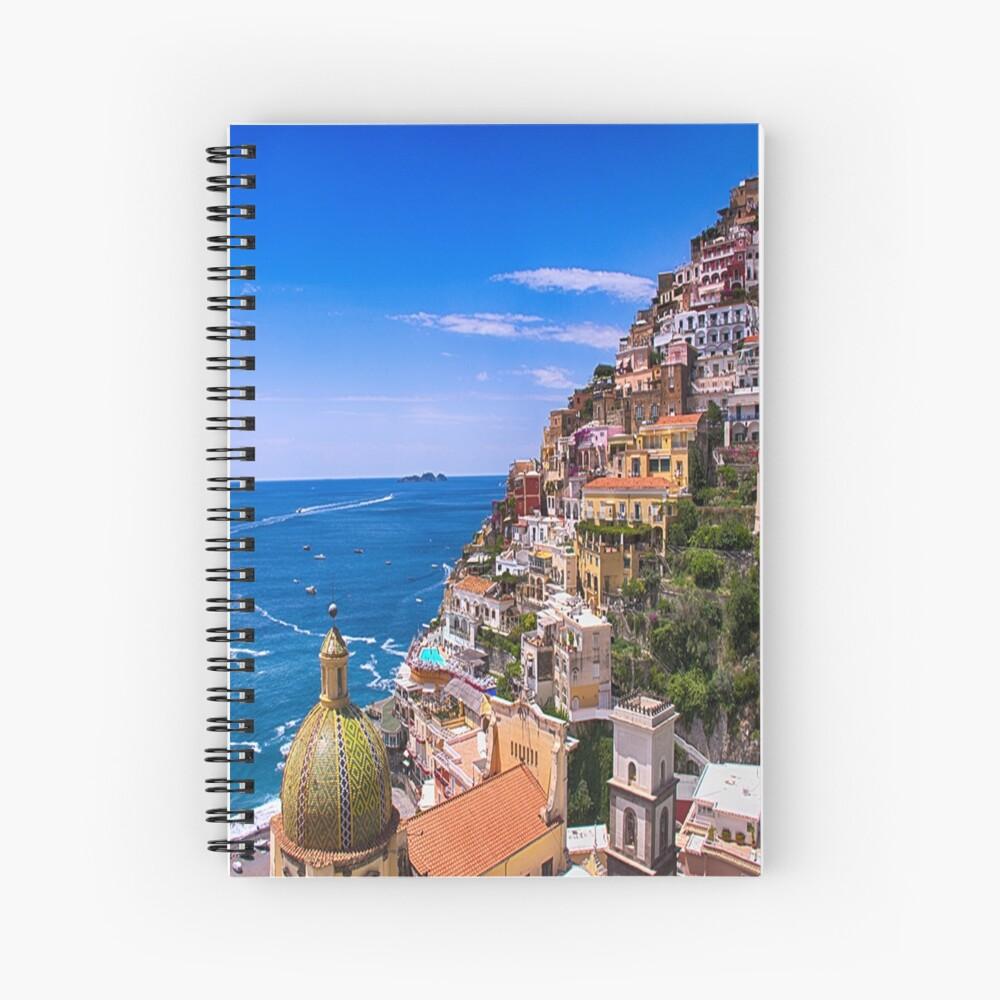 Liebe von Positano Italien Spiralblock