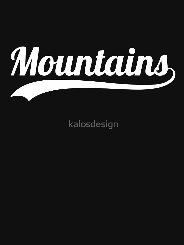 Going to the Mountains is going home by kalosdesign