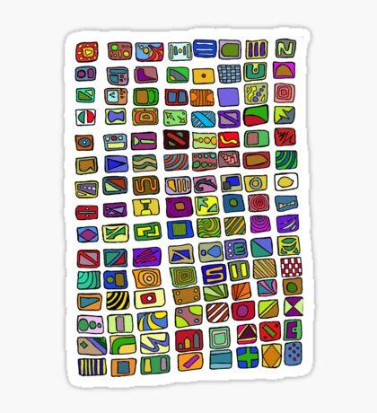 The Pattern Sticker
