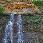 Cliffside Waterfall - HDR by akaurora