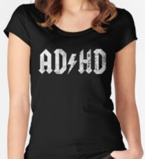 ADHD Women's Fitted Scoop T-Shirt