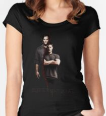 Supernatural 3 Women's Fitted Scoop T-Shirt