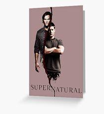 Supernatural 3 Greeting Card