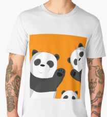 Cute pandas Men's Premium T-Shirt