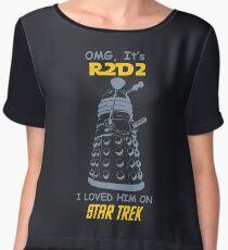 dalek doctor who - Nerd RAGE Women's Chiffon Top