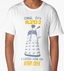 dalek doctor who - Nerd RAGE Long T-Shirt