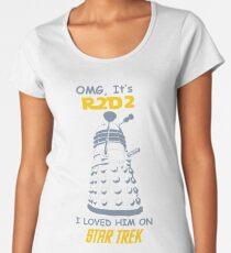 dalek doctor who - Nerd RAGE Women's Premium T-Shirt