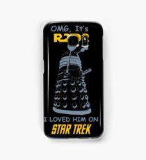 dalek doctor who - Nerd RAGE Samsung Galaxy Case/Skin