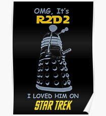 dalek doctor who - Nerd RAGE Poster