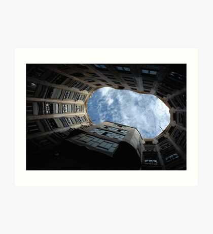 Gaudi's Sky Art Print